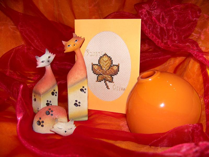 45 - автор termid - для TataFrost. Осенние открытки получены