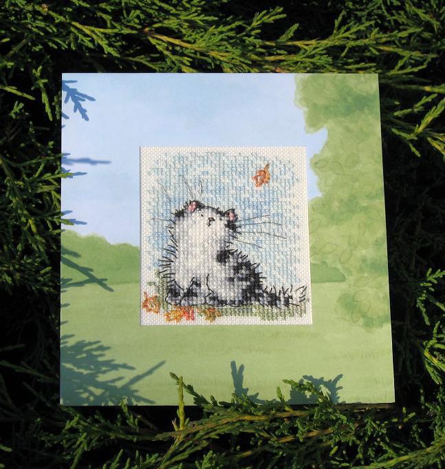 46 - автор Ольга (Oна) - для Ulyana. Осенние открытки получены