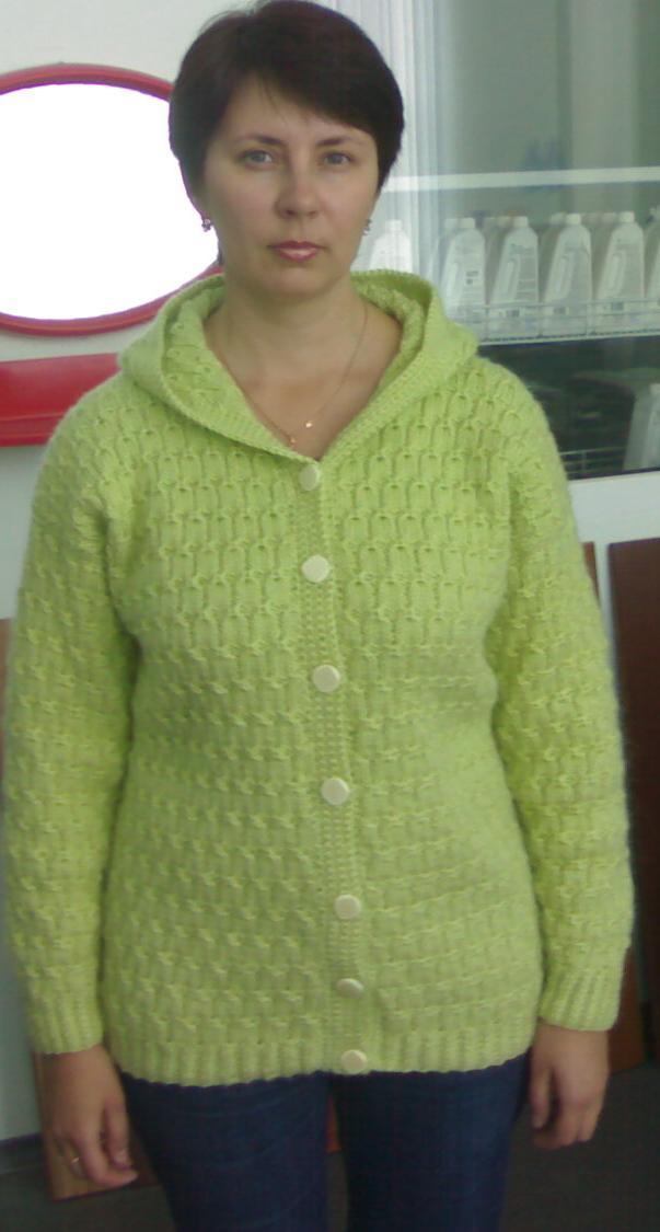 Жакет с капюшоном. Одежда