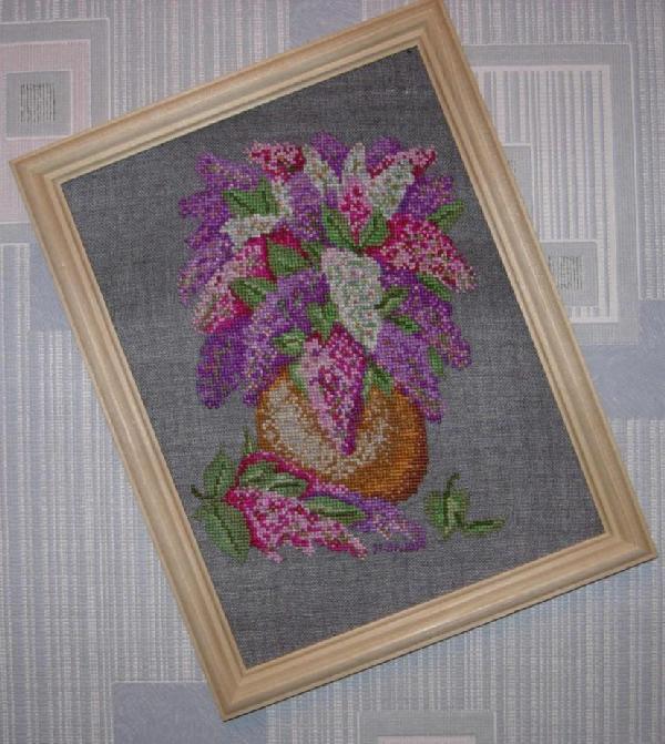 букет сирени. Растения (в основном цветы)
