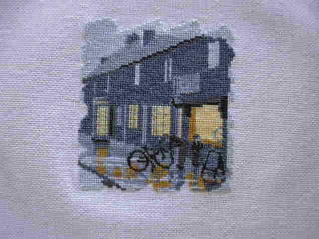 Bike Shop. Здания, улицы