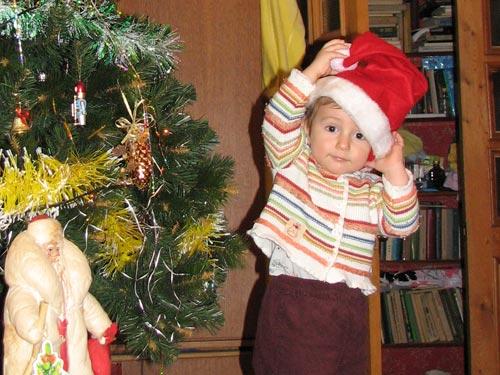 А я буду Санта-Клаусом!. Здравствуй, елка!