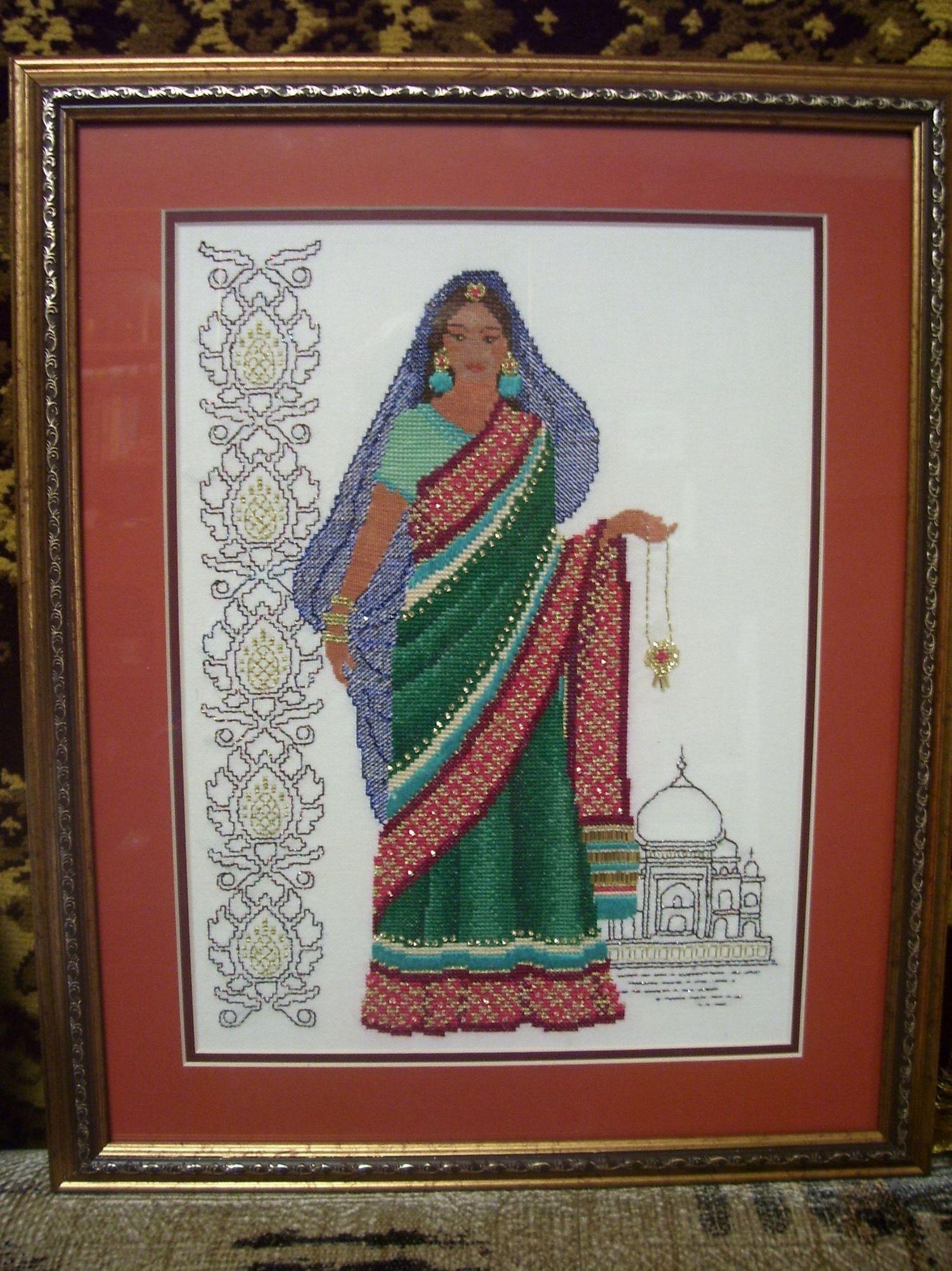 Индийская девушка.. Женские образы