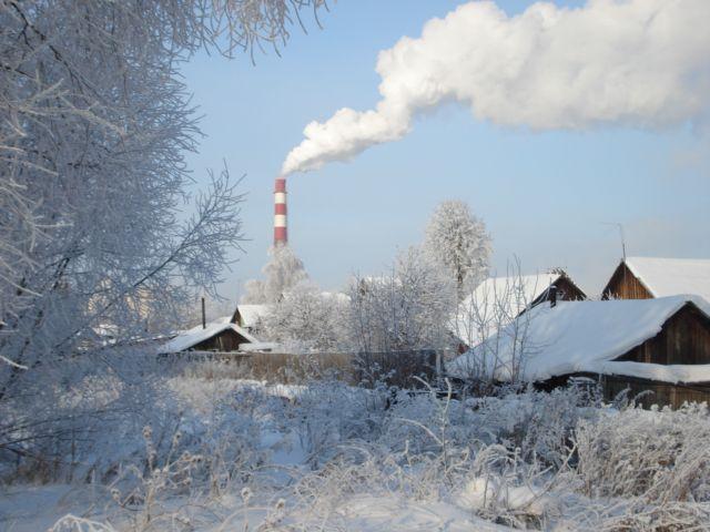 Зима на Урале. Лесной пейзаж