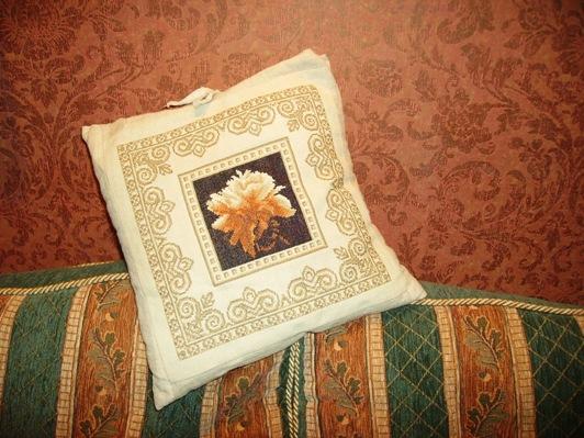 Печворк, подушка, 2007 г.. Пэчворк