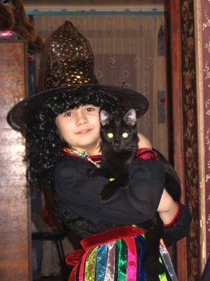 Ведьмочка. Карнавальные костюмы
