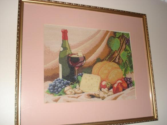 Натюрморт с красным вином. Натюрморты