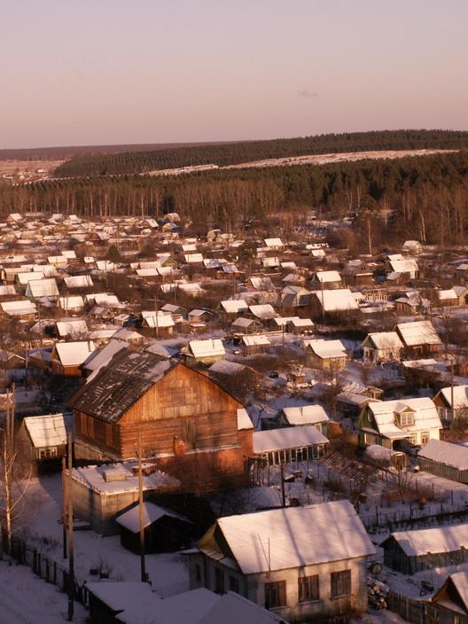 *Зимние домики*. Зима за окном