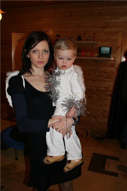 Мама и сынок!. Вместе с мамой