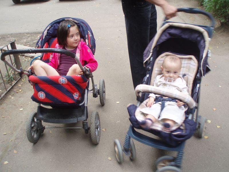 Всем по коляске. Дети в колясках