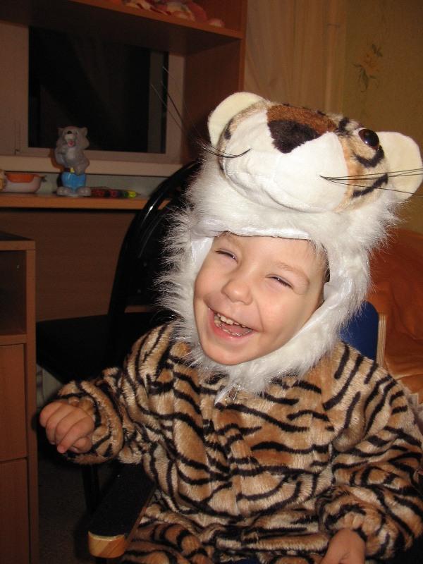 Я тигрёнок, а не киска...ррррр )).