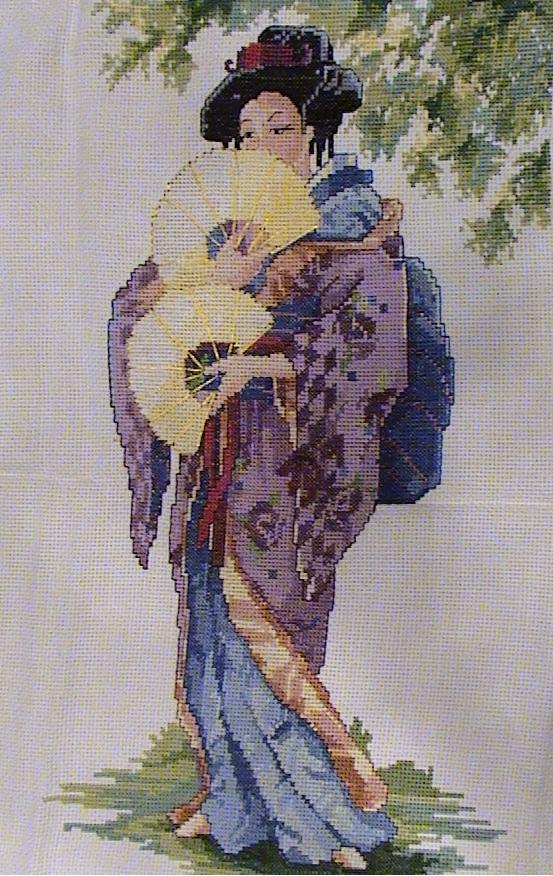 Oriental Lady. Восток, иероглифы