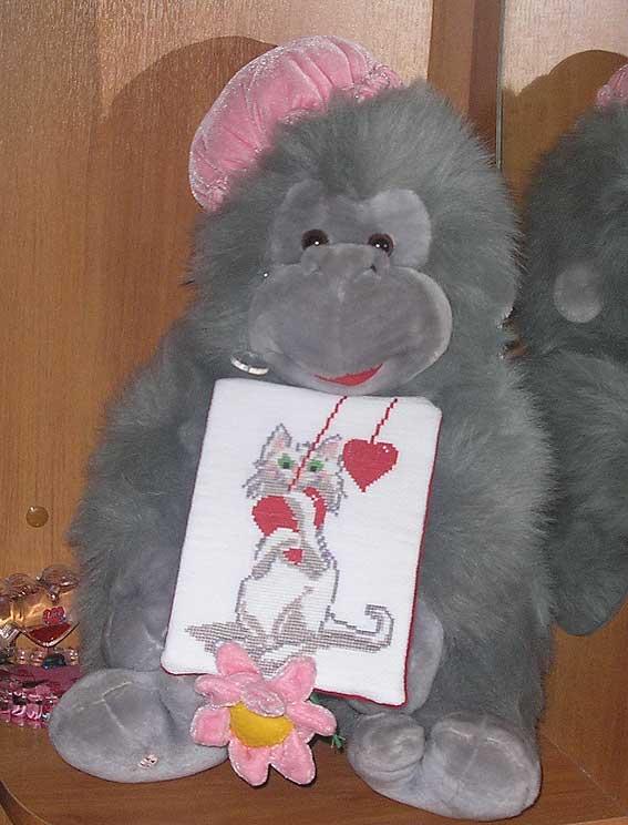42. Ксенька(psoksa) для KoalaAtHome. 2008 Проект Сердечки