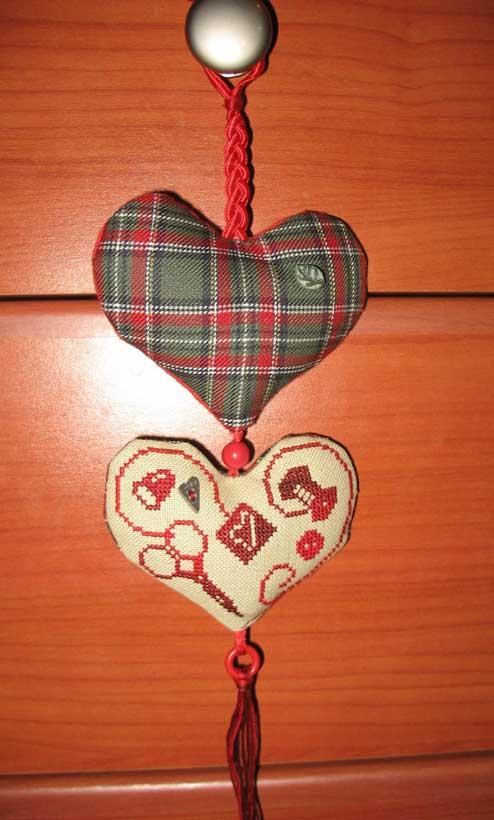 45.  ~Голубка~ для TataFrost. 2008 Проект Сердечки