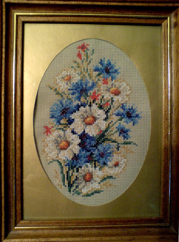 Бутоньерка с ромашками. Растения (в основном цветы)