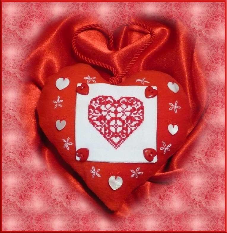 88. Валькирия для Iro4ka_. 2008 Проект Сердечки