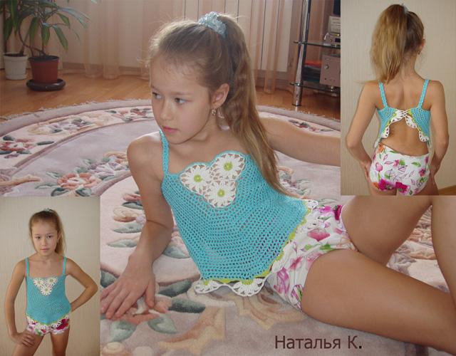 Топик с ромашками. Одежда для детей