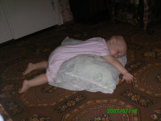 Вот так мы и спим.... Спящие дети