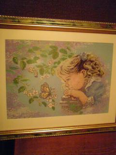 девочка с бабочкой. Изображения детей