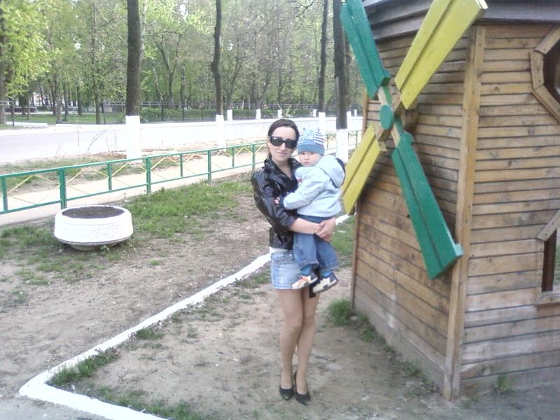 С мамулей!. Вместе с мамой