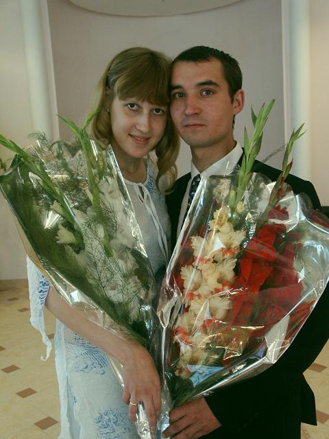 Я и мой любимый муж.. Бракосочетание