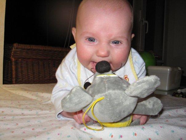 Мыша и малыша. Дети с игрушками