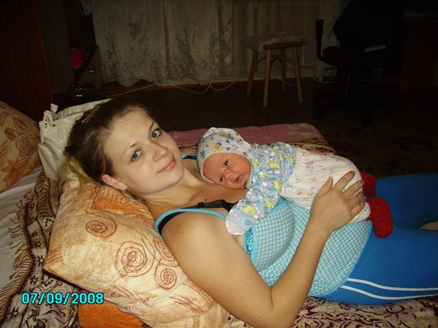 'вот вырасту и обниму еще крепче' :-))). Вместе с мамой