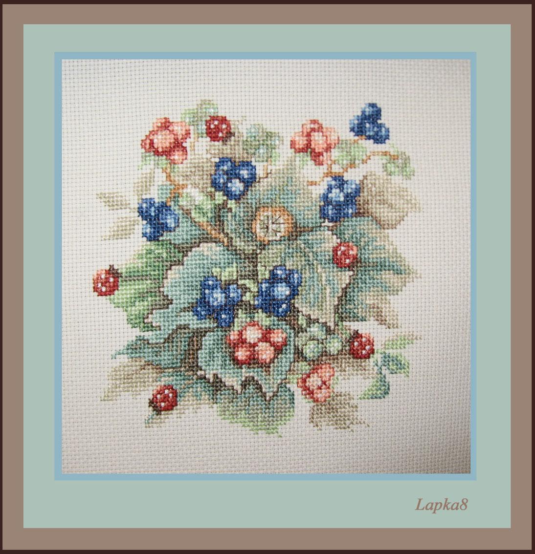 Ажина-Ежевика. Растения (в основном цветы)