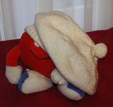 Большой вязанный берет с пампошкой :)) . Шапки, шляпки, панамки и др.  вязаные головные уборы