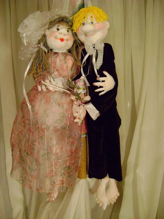 Куклы-обережки 'Свадебные'.. Самодельные игрушки
