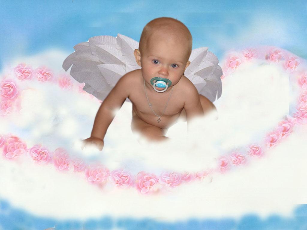 Мой любимый ангелочек. Дети: художественное фото