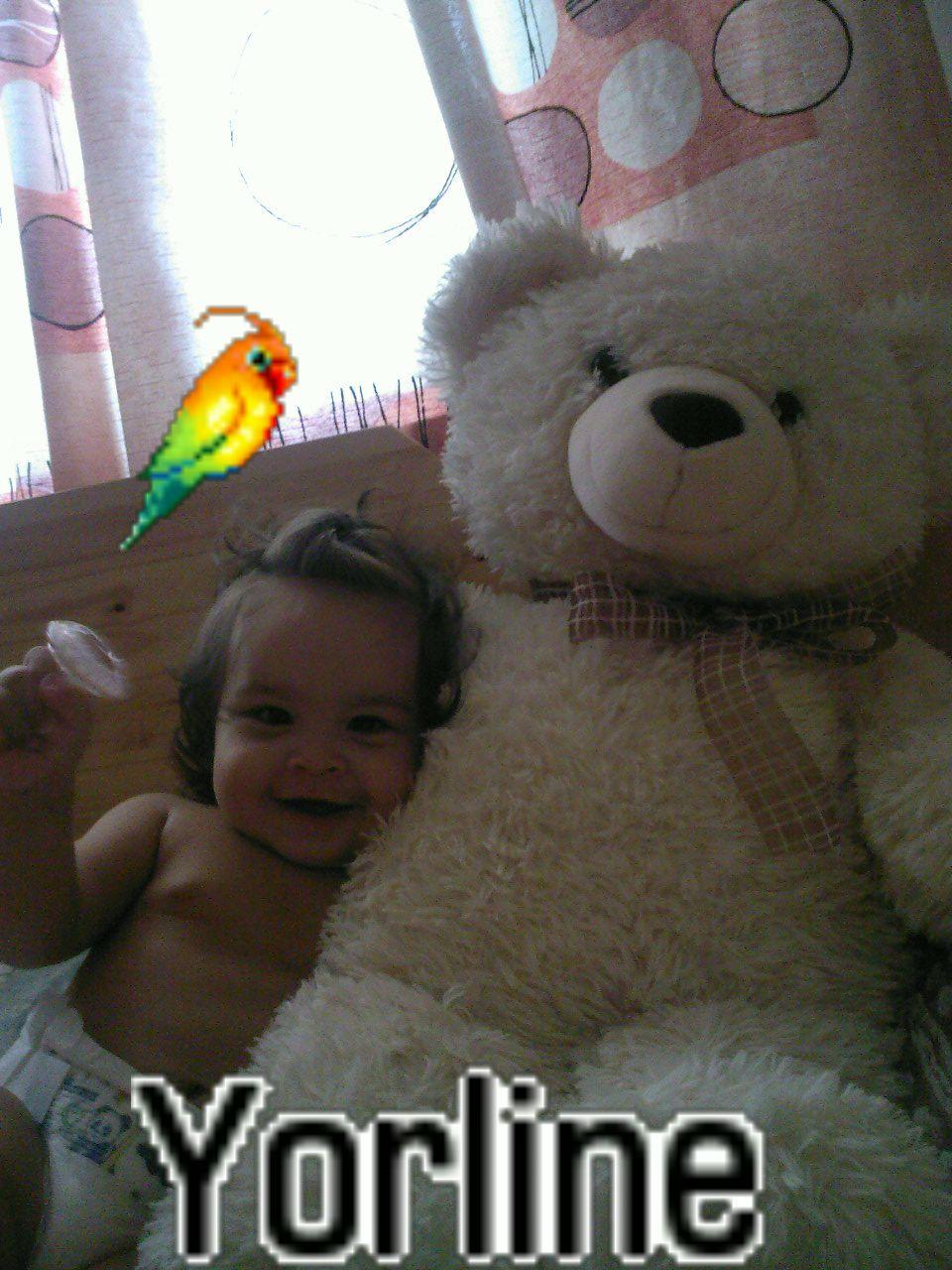 мишка и Yorline. Дети с игрушками