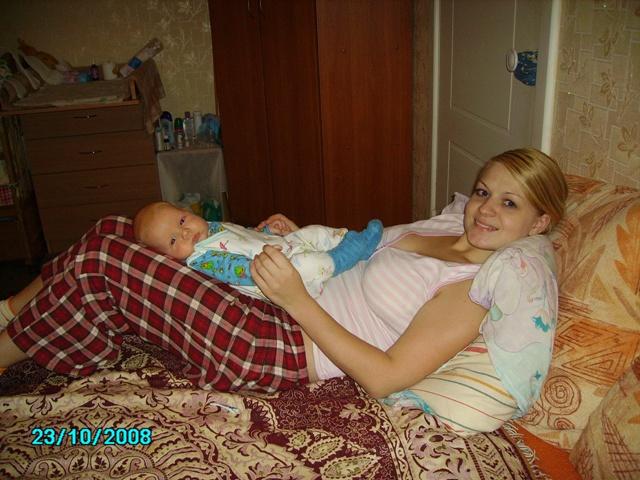 Ирушка и Кирушка :-))))). Вместе с мамой