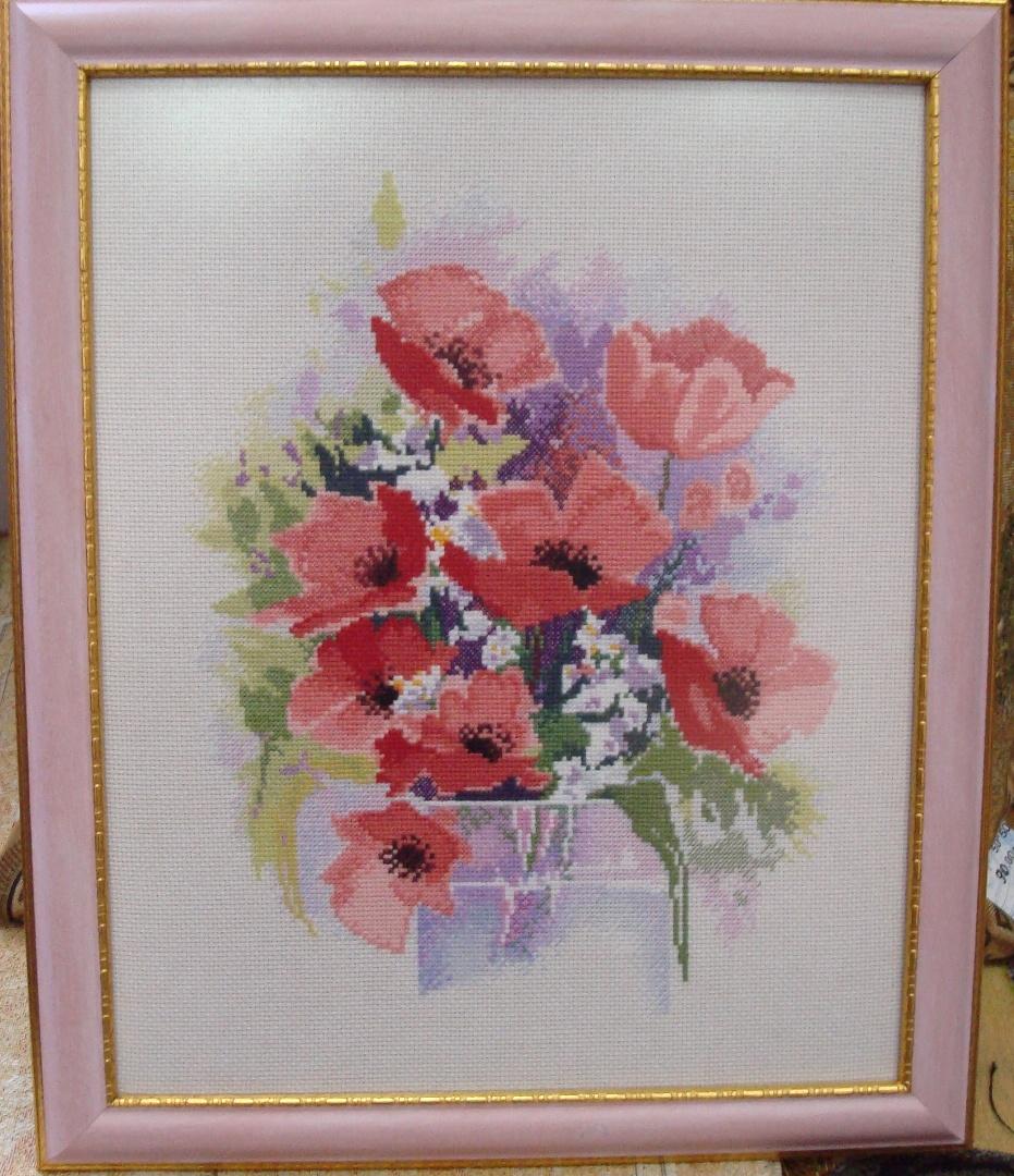 Watercolour Poppies, Derwentwaters. Растения (в основном цветы)