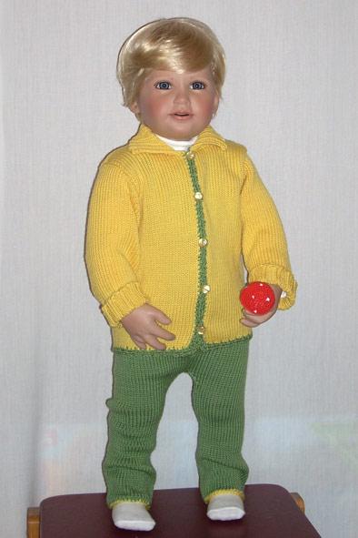 вяжем для детей, шерстяной костюм. Одежда для детей