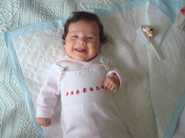 Мой маленький ангелочек-Лерочек. Дети улыбаются