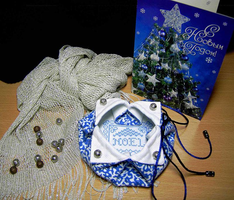 11.  автор Lioness для ~Голубки~. -Новогодние подарки полученные