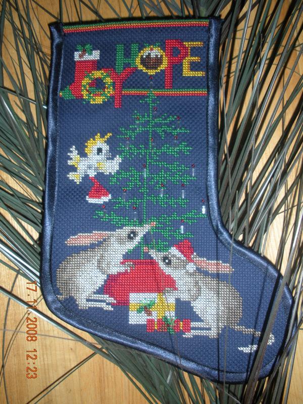 62. автор WildStitch для galina 1975. -Новогодние подарки полученные