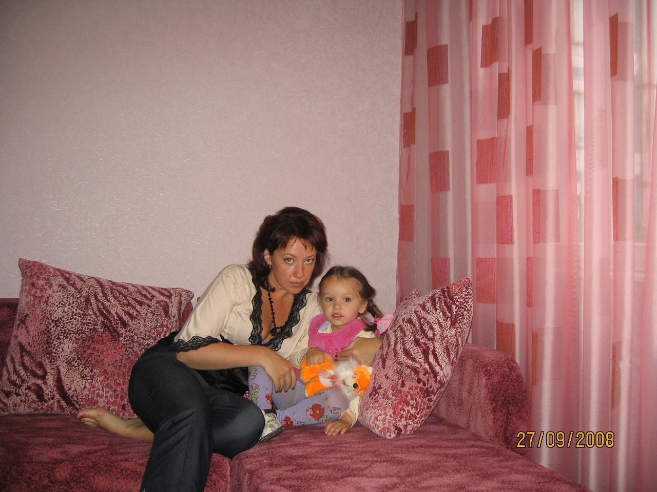я и моя любимая дочь!!!). Вместе с мамой