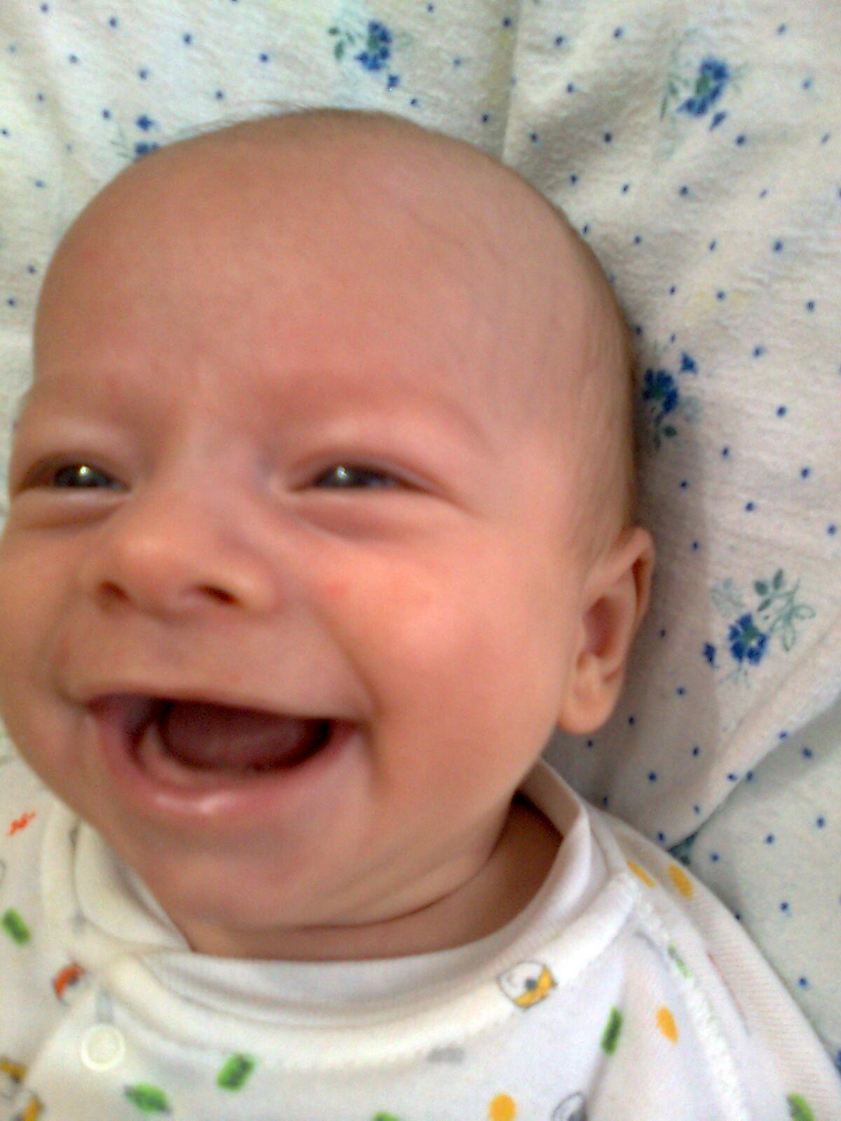 улыбочку. Дети улыбаются