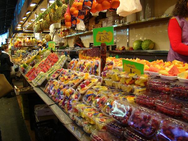 Рынок Бокерия в Барселоне. Приятного аппетита!