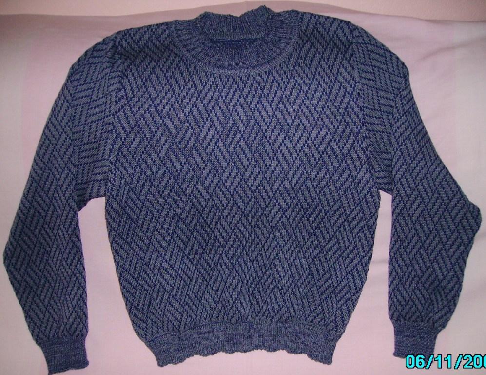 Мужской свитер. Одежда
