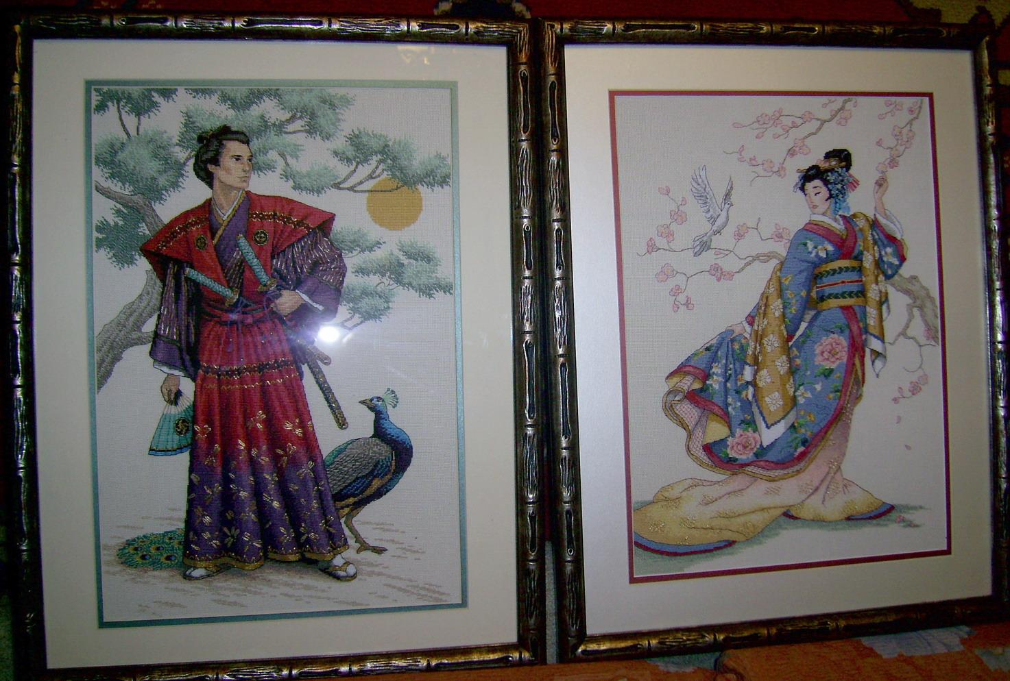 The Mighty Samurai и Elegance of the Orien (Dim). Портреты