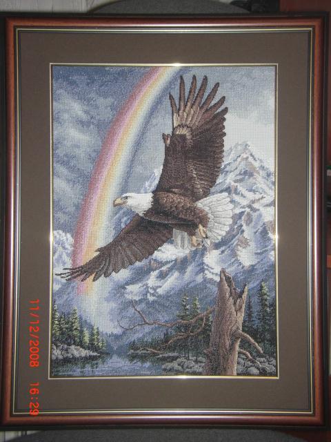 Парящий орел от Dimensions. Животные