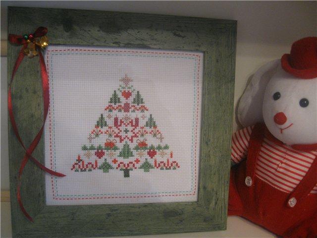 Моя елка))). Рождественские и новогодние мотивы