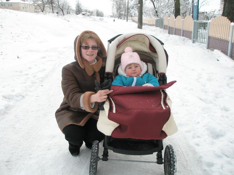 А это я с мамой гуляю.... Вместе с мамой