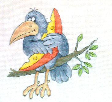 Ворона с сыром, дизайн Прокопец кажись . Детские сюжеты
