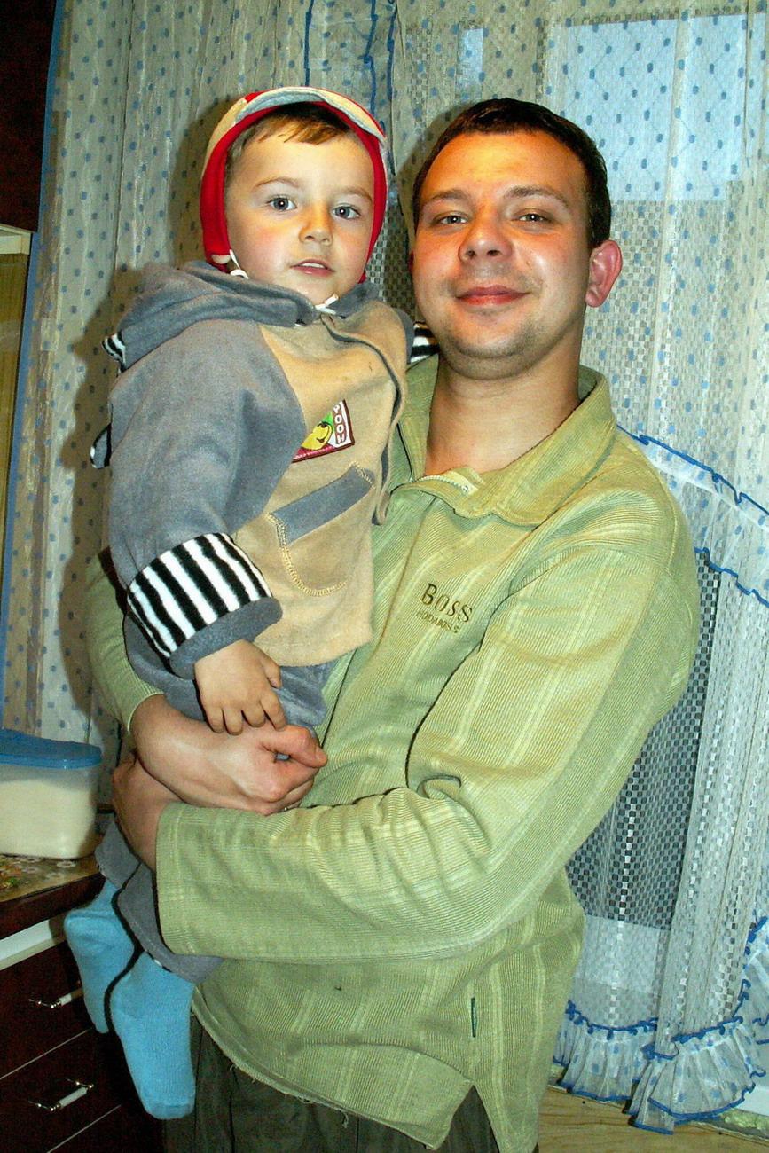 Я и папа :-). Как мы похожи
