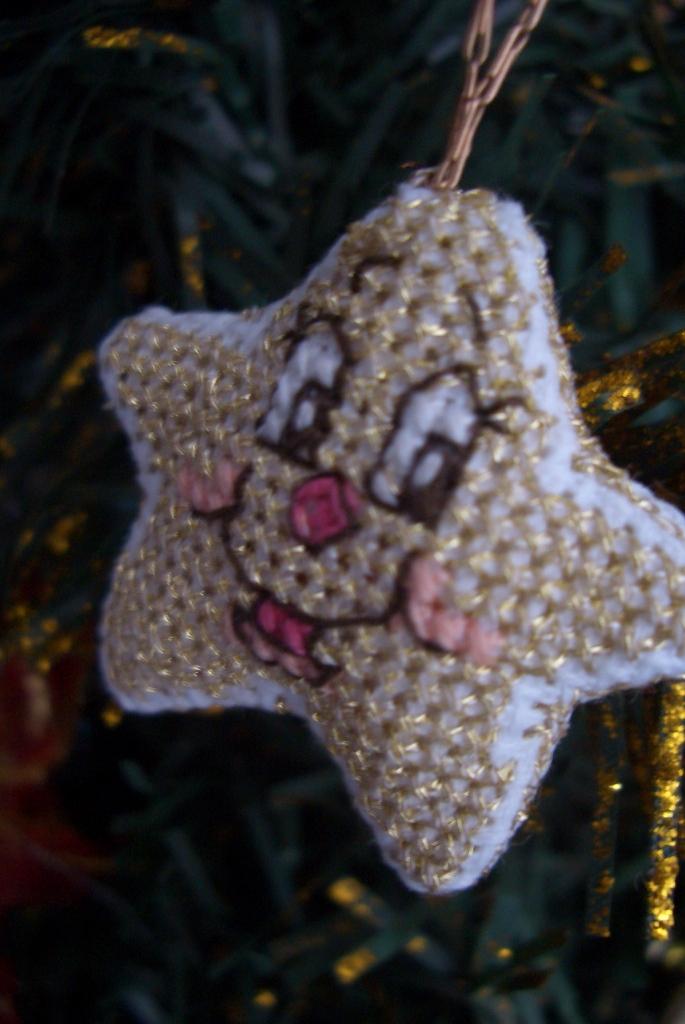 Звезда . Рождественские и новогодние мотивы