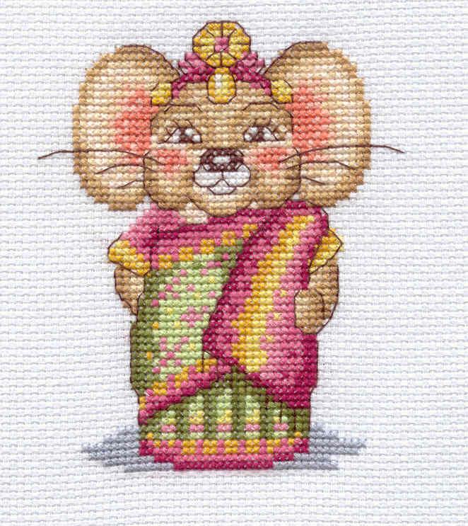 Мышка Рашми (арт.Д-178). Животные